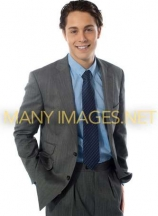 Stylish young businessman, portrait